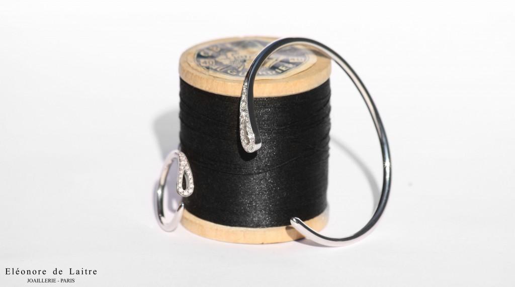 Collection Couture - Bague et Bracelet Aiguille