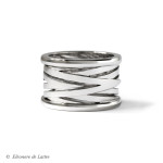 Collection Couture - Bague Bobine or gris