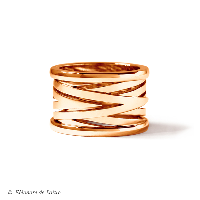 Collection Couture - Bague Bobine or rose