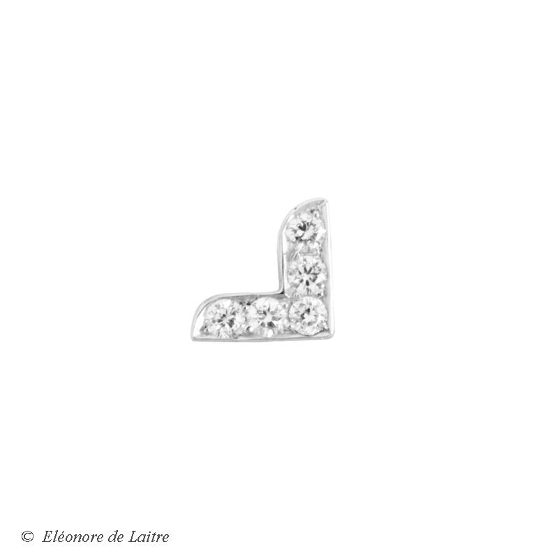 Collection Couture - Puce d'oreille Dentelle V - OG