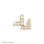 Collection Couture - Puce d'oreille Dentelle VV - OJ